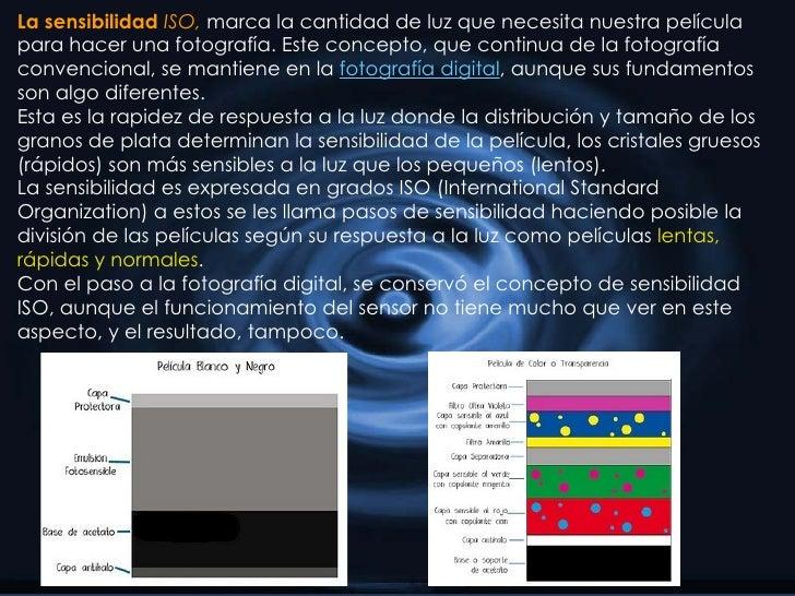 La sensibilidad  ISO,  marca la cantidad de luz que necesita nuestra película para hacer una fotografía. Este concepto, qu...