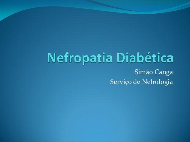 Simão Canga Serviço de Nefrologia