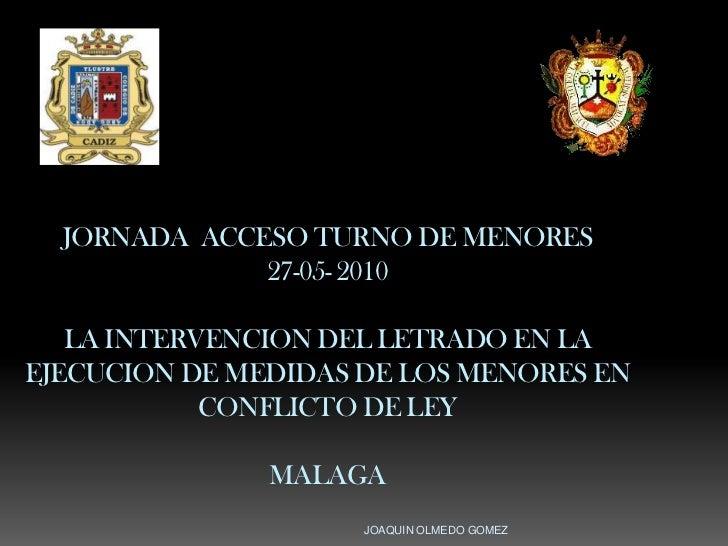 Curso acceso malaga 2010