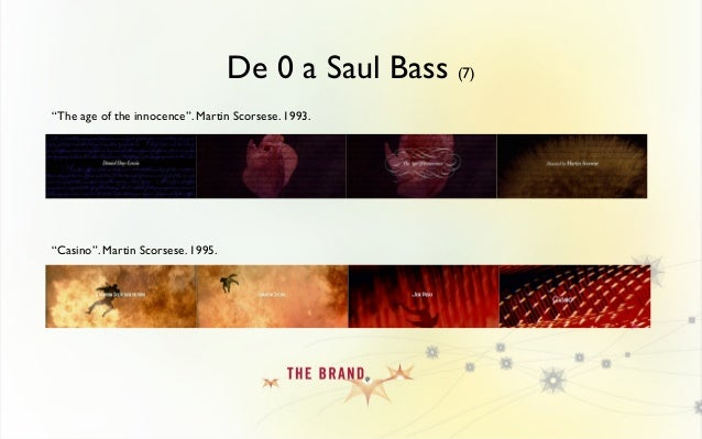 De 0 a Saul Bass (8) Realmente antes de Saul Bass el diseño en movimiento prácticamente no existía. O por lo menos no tal ...