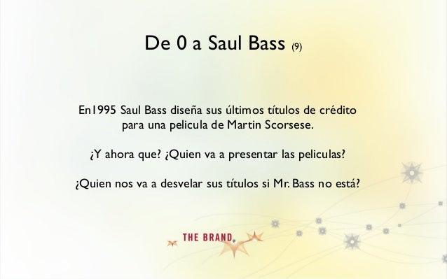 """De 0 a Saul Bass (10) Curiosamente, en ese mismo año, se estrena """"SE7EN"""", el 2º largometraje de un realizador publicitario..."""