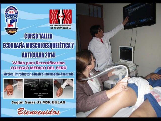 Curso anual de ecografia musculoesqueletica y articular 2014 Slide 2