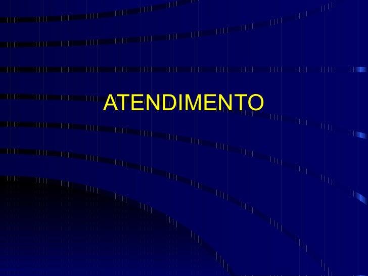 ATENDIMENTO