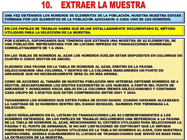 POR CADA ELEMENTO DE LA MUESTRA OBTENIDA HABRÁ QUE ACCEDER A LA DOCUMENTACIÓN CORRESPONDIENTE A LA TRANSACCIÓN, Y SOBRE CA...