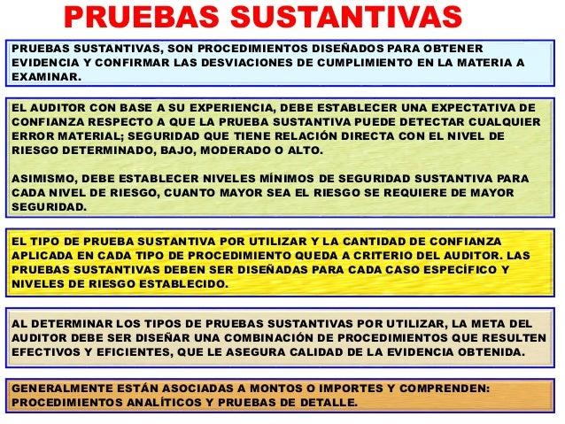 REVISIONES ANALÍTICAS REVISIONES ANALÍTICAS PRUEBAS DETALLADAS REVISIONES ANALÍTICAS CONTROLES DE MONITOREO CONTROLES (DE ...