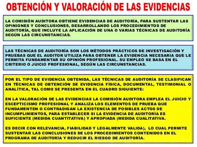EL PROCESO DE RECOPILACIÓN DE EVIDENCIA ES SISTÉMICO E ITERATIVO Y COMPORTA LO SIGUIENTE: ESTE PROCESO PROSIGUE HASTA QUE ...