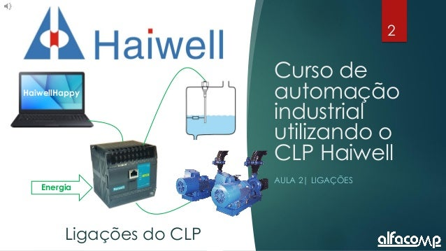 2 Curso de automação utilizando o CLP Haiwell - Aula 2 Curso de automação industrial utilizando o CLP Haiwell AULA 2| LIGA...