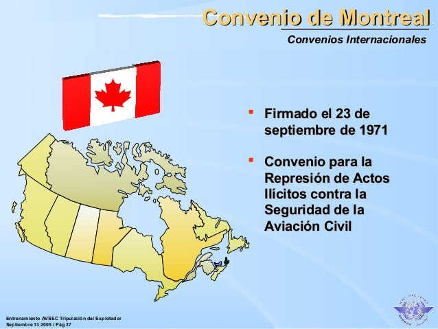 CONVENIO DE MONTREAL EBOOK