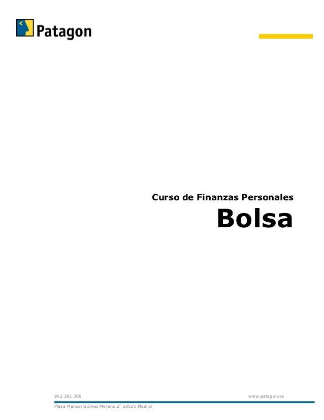 Curso de Finanzas Personales                                                       Bolsa902 365 366                       ...