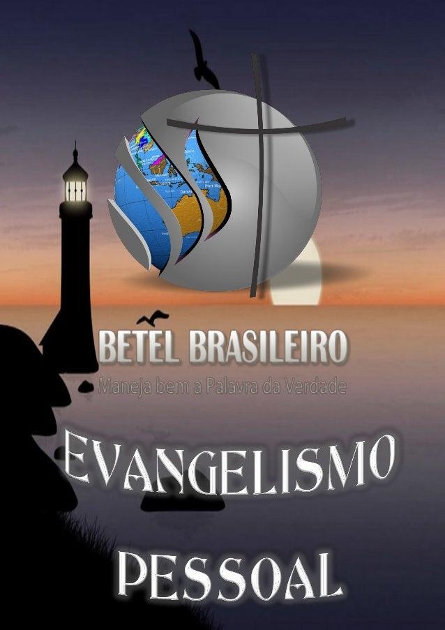 Pag. 1 - Curso básico de Evangelismo Pessoal  Curso Básico de Evangelismo – Parte 01 1. Definição de evangelismo Evangelis...