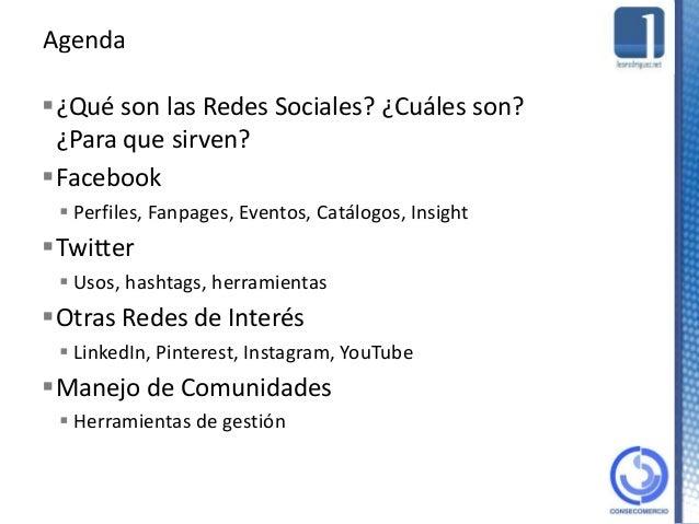 Introducción a las Redes Sociales Slide 2