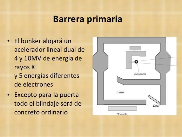 Curso blindajes radioterapia for Cuarto de rayos x