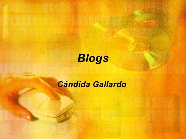 Blogs Cándida Gallardo