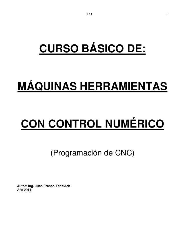 Curso de cnc