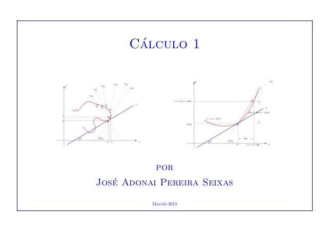 C´alculo 1 sa x θ θQ Pb Q t Qγ QQ Q l lQ lQ lQ y lQ lQ lQ s = a + ∆x xa θ θQ ∆x Pf(a) γ : y = f(x) f(a + ∆x) − f(a) l t = ...