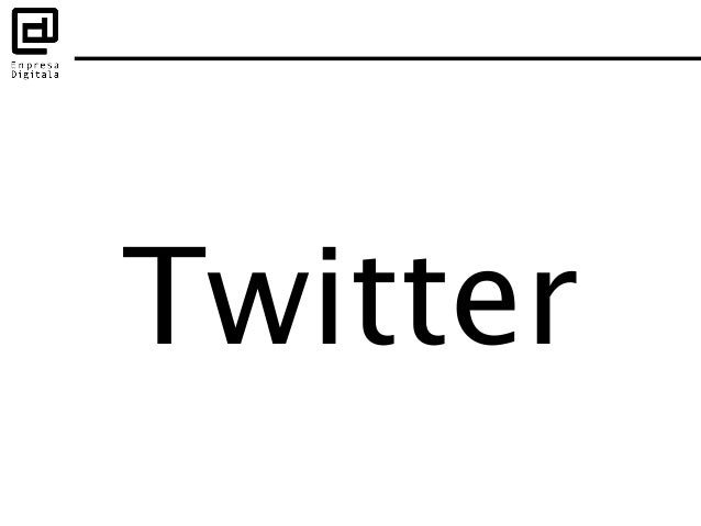 microblogging + red social = twitter