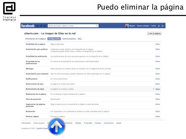 Puedes interactuar en otras páginas con la identidad de tu página Usar Facebook como página