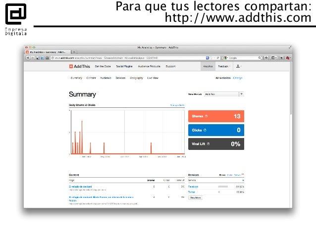 ¿En la nube o en casa? • Blogger – Integración con Analytics • WordPress.com • Hosting de WordPress – Integración con...