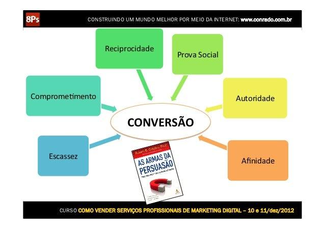 CONSTRUINDO UM MUNDO MELHOR POR MEIO DA INTERNET: www.conrado.com.br                        Reciprocidade               ...