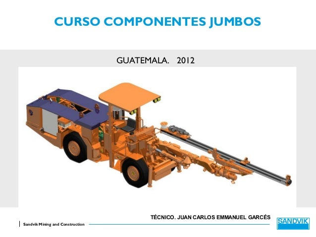 CURSO COMPONENTES JUMBOS                                  GUATEMALA. 2012                                        TÉCNICO. ...