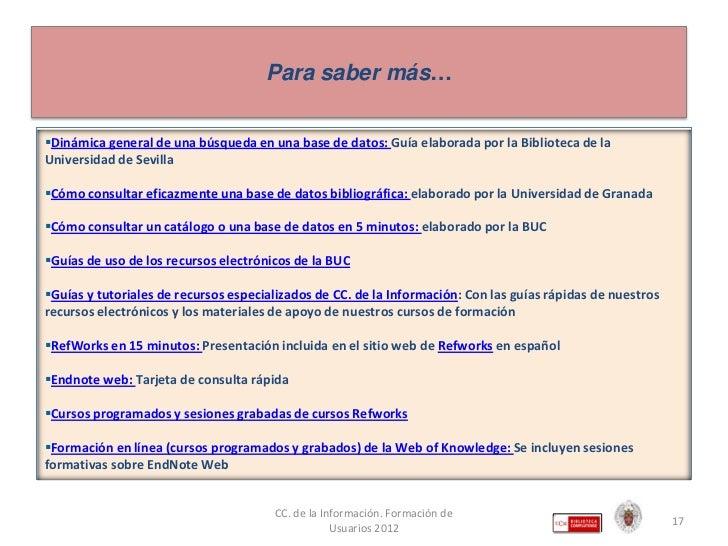 Fuentes de información para comunicación audiovisual en la ... - photo#20