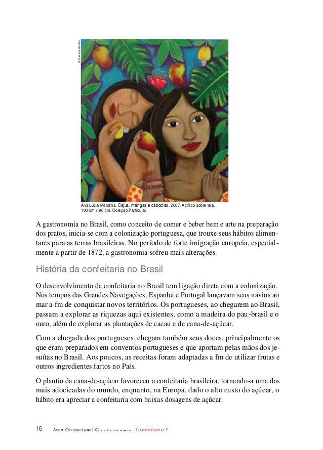 Ana Lúcia Mendina. Cajus, mangas e caboclas, 2007. Acrílico sobre tela, 100 cm x 90 cm. Coleção Particular. A gastronomia ...