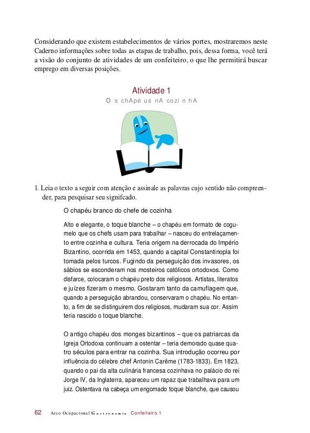 Considerando que existem estabelecimentos de vários portes, mostraremos neste Caderno informações sobre todas as etapas de...