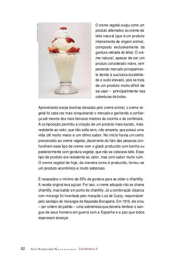 O creme vegetal surgiu como um produto alternativo ao creme de leite natural (que é um produto inteiramente de origem anim...