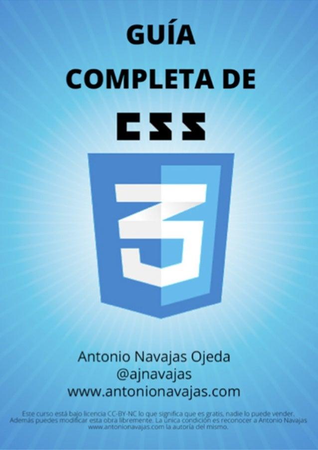 Curso CSS3