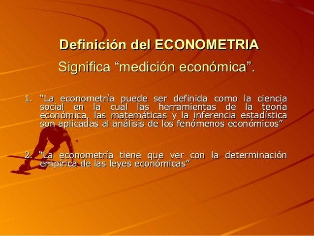 Cursos econometria