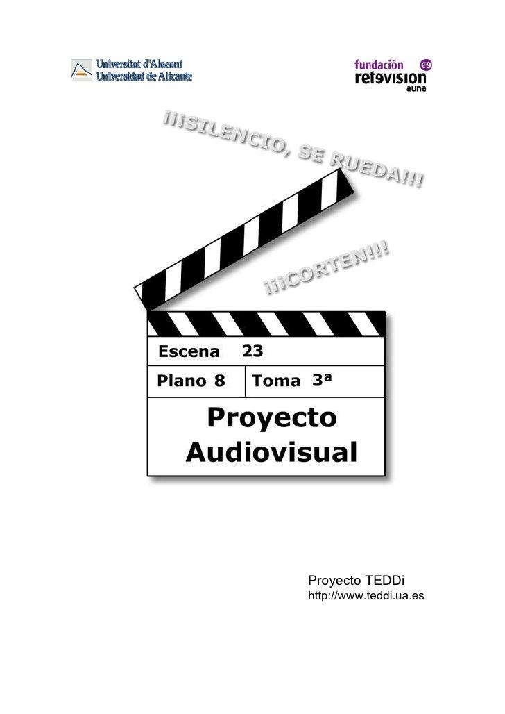 Proyecto TEDDihttp://www.teddi.ua.es