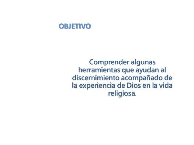 Curso de discernimiento. crc 2014 Slide 2