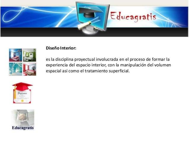 Curso de dise os de interiores for Curso de diseno de interiores online
