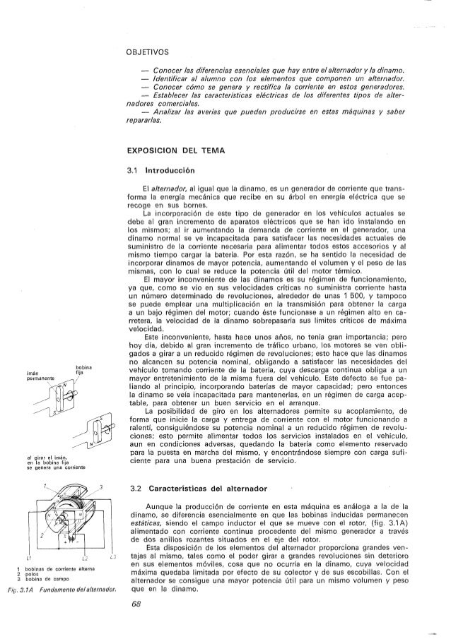 Curso de electricidad del automovil   estudio del alternador Slide 2