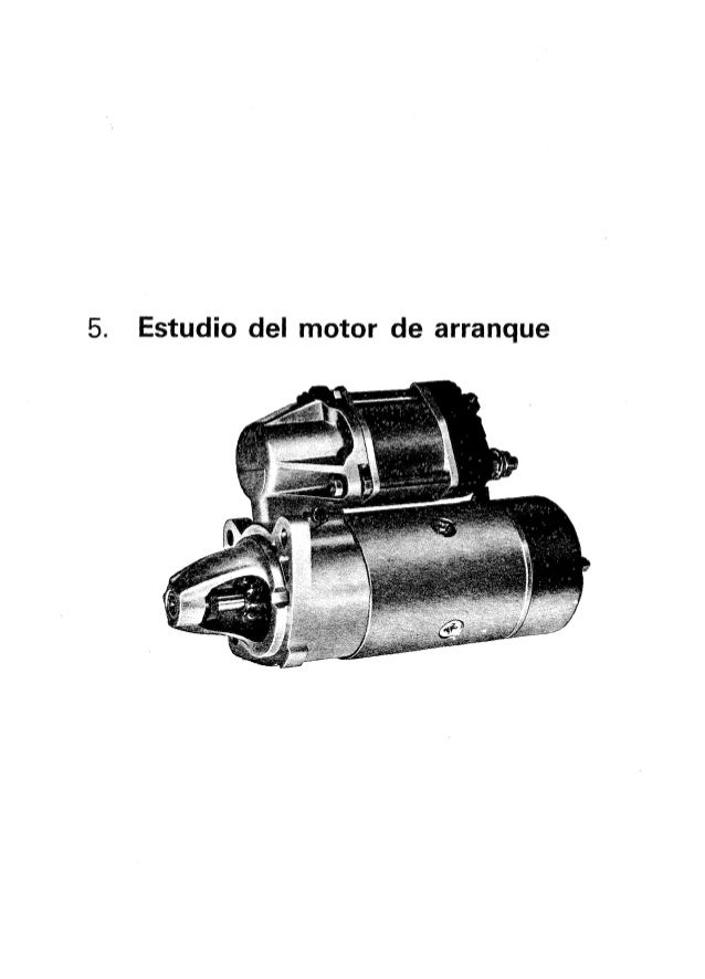 Curso de electricidad del automovil   estudio del motor de arranque