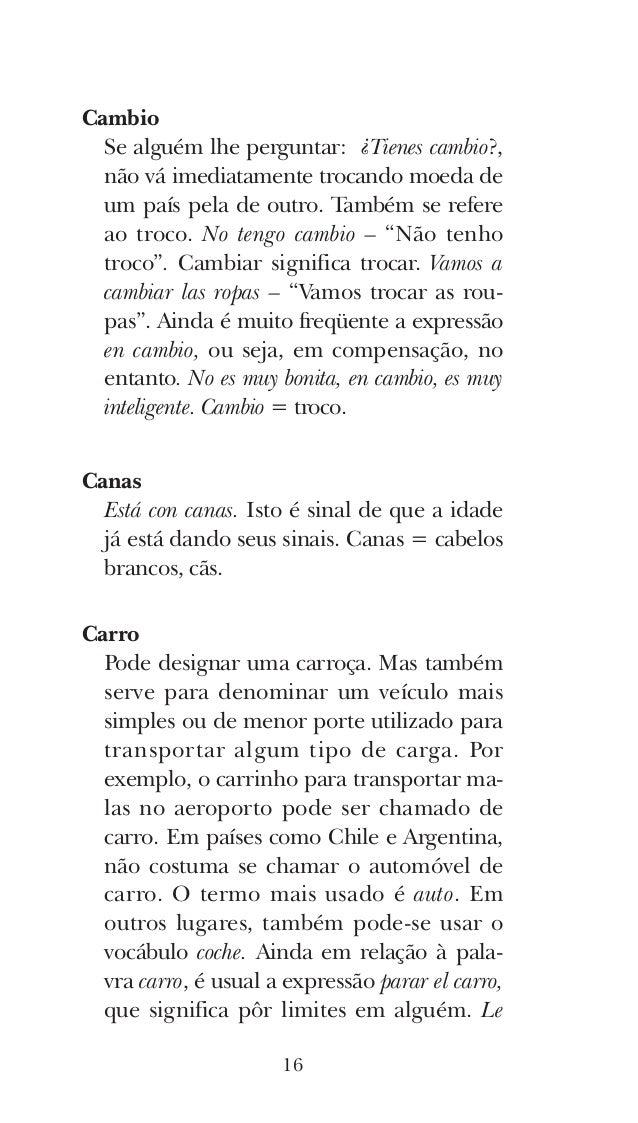 Como Fazer uma Lista Aberta de Expressões em Espanhol