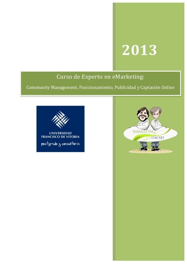 2013                   Curso d...