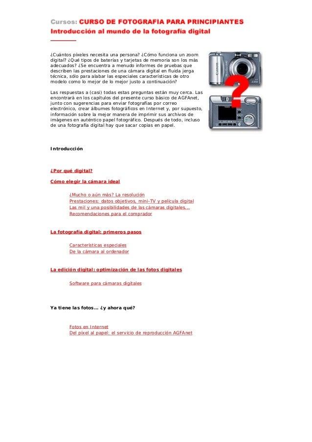 ccd7cdccf24df Curso de fotografía digital por agfa
