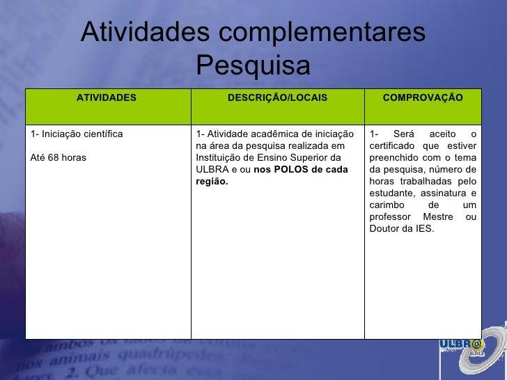 23 09 B 1 Atividades Preparatórias 2 Ofertas: Apresentação Pedagogia