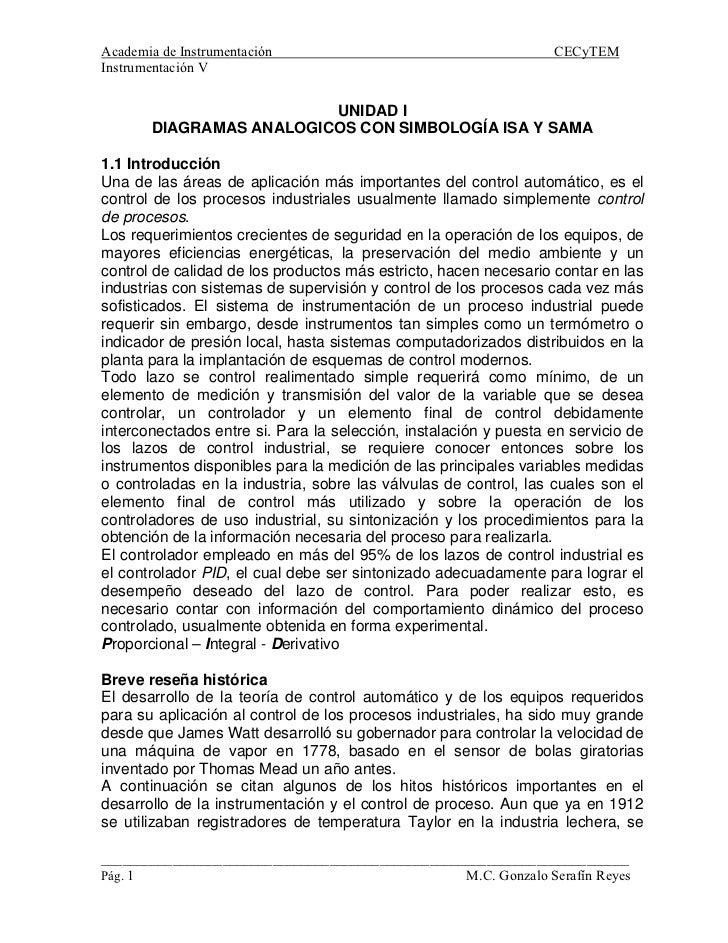 Academia de Instrumentación                                       CECyTEM Instrumentación V                            UNI...