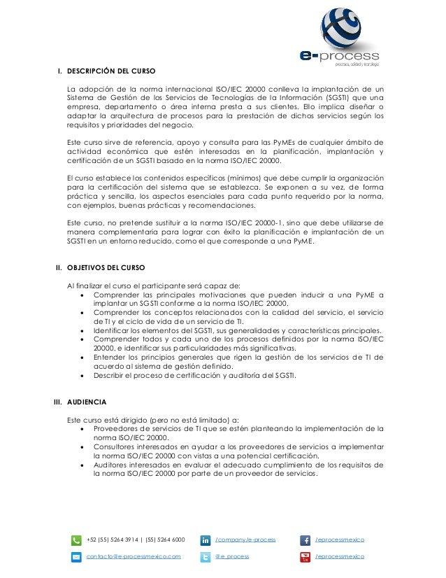 +52 (55) 5264 3914 | (55) 5264 6000 /company/e-process /eprocessmexico contacto@e-processmexico.com @e_process /eprocessme...