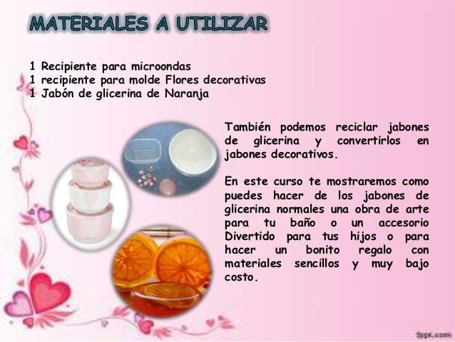 Jabones de glicerina decorativos normal superior florencia - Hacer jabones de glicerina decorativos ...