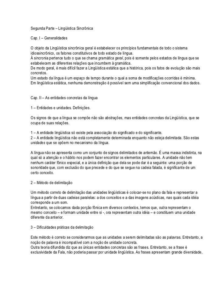 BAIXAR SAUSSURE DE LINGUISTICA CURSO GERAL
