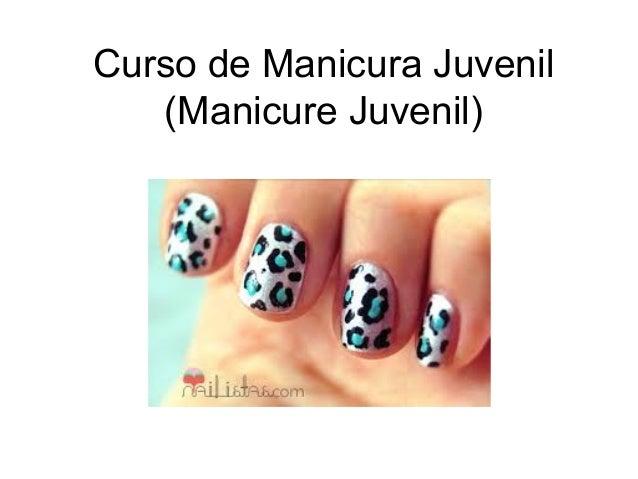 Curso de Manicura Juvenil (Manicure Juvenil)