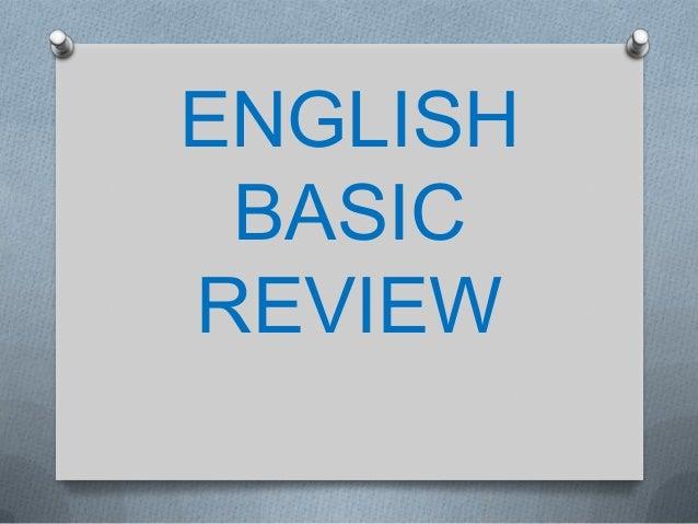 ENGLISHBASICREVIEW