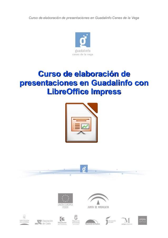 Curso de elaboración de presentaciones en Guadalinfo Cenes de la Vega Curso de elaboración deCurso de elaboración de prese...