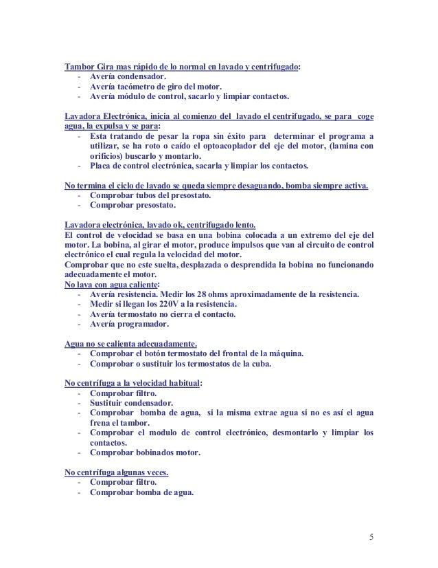 Curso de Reparacion de Lavadoras - photo#13
