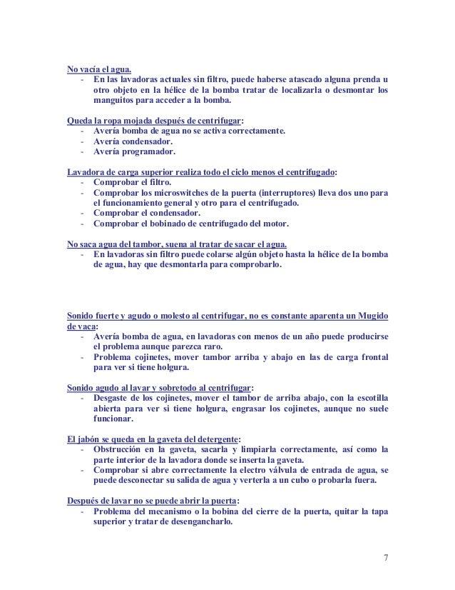 Curso de Reparacion de Lavadoras - photo#23