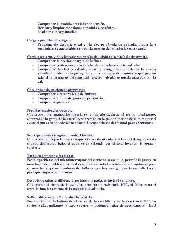 Curso de Reparacion de Lavadoras - photo#24
