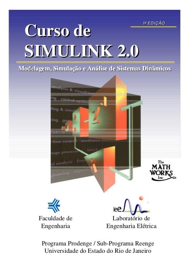 1 a EDIÇÃO                                             a  Curso de  SIMULINK 2.0Modelagem, Simulação e Análise de Sistemas...